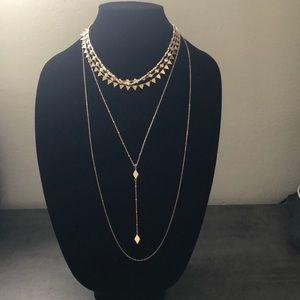 Panacea multichain necklace